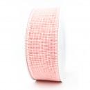 Net tape Madrid width 40mm, length 10m, salmon pin
